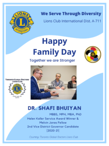 Happy Family Day Dear Lions! Together we are stronger!